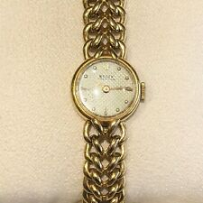 RARE Vintage 1950's 18k GOLD Ladies ROLEX Chain Dress Watch W/ Extra Links
