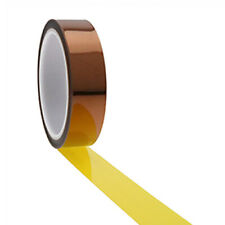 Ultra High Temp Polyimide Tape 25.4mm x 33mm, Anodising Tape, Powder Coating