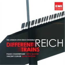 Reich: Different Trains CD NEW