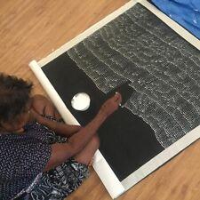 "AUSTRALIAN ABORIGINAL ART PAINTING by LILY KELLY NAPANGARDI ""TALI - SAND HILLS'{"