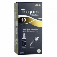 Tugain Hair Regrowth Therapy 10% Soution Prevents Hair Loss Fall Baldness 60ml
