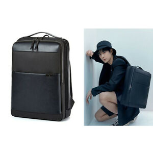 """SAMSONITE RED Mens Holte Backpack Grey HT208001 Leather Business Laptop 15.6"""""""