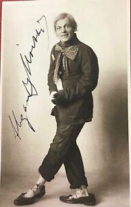 """Alexander MOISSI,1.""""Jedermann"""",1879-1935,sehr schönes,mit Tinte signiertes Foto"""