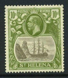 1922-37 St Helena 10/- SG 112 Mint LH Cat £170