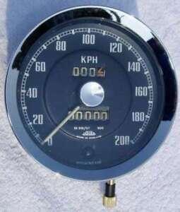 JAEGER MGA Speedometer KMH   calibration 900tpk
