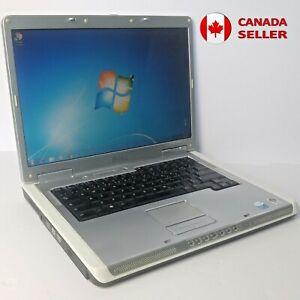 Laptop Dell Inspiron 6400 Intel 2GB RAM Windows / Linux + Power Supply WORKS OK