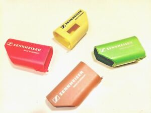 Lot of 4 Sennheiser Colour-coded Protective Caps for SKM 3072 Microphone