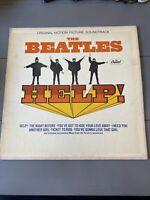 THE BEATLES: Help! US Capitol MAS-2386 Mono Rock Vinyl LP