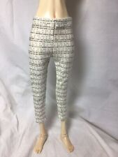 Bjd-Msd 1/4 Thin Stretch Jersey Pants~Dots On White~Never Used!