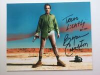 Bryan Cranston Autographed Photo Breaking Bad Signed Walter White 8x10