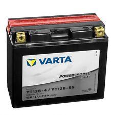 Varta Powersports Motorrad Batterie AGM YT12B-4 YT12B-BS 512901019A514 12V 12Ah
