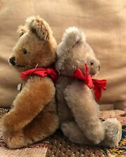 "2  STEIFF BEARS 7"" MOHAIR CUTE PAIR"