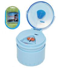 PILL SPLITTER Safety Blade Storage Easy Swallowing Quick Elderly Children Kids