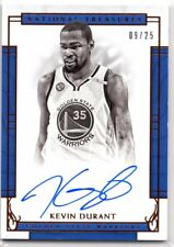 Kevin Durant 2016-17 National Treasures AUTO AUTOGRAPH SSP  #9/25  WARRIORS