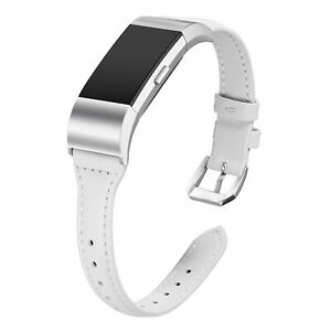 For Fitbit Charge 2 Genuine Leather Replacement Watch Band Bracelet Strap Belt