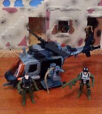 L@@K GI Joe 1:18 scale True Heroes: Sentinel 1 Helicopter Pilot & Gunner