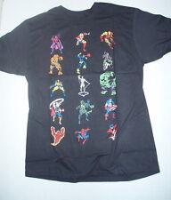 Marvel Stackem Magneto Thing Hulk Thor Dr Doom t-shirt Medium M Mad Engine