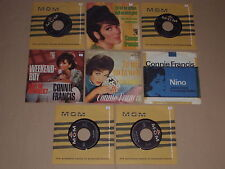 "CONNIE FRANCIS  -  8 x 7"" Sammlung"