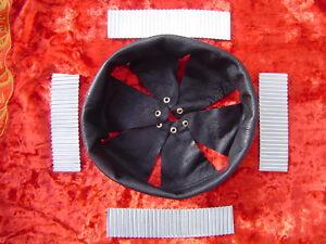 WW1 coiffe intérieure + gaufrettes casque Adrian m1915 french helmet T.54  N348