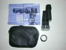 Ricoh Aux Telephoto Photo Monocular Lens for Camera Genius 7 x 35 Adapter Case