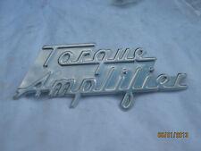 Farmall and International 300, 350, 400 & 450 Torque Amplifier Emblem
