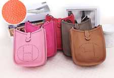 Real leather [ Evelyne ] style handbag, lots colours, good quality bag