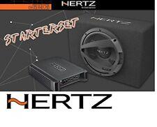 Hertz Dieci Starterset - HERTZ HCP2 AMPLIFICATORE + HERTZ DBX 25.3 Subwoofer
