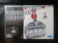 Tin Can Cable Car Fun Mechanics Kit 2013 Sealed  4M Toysmith
