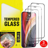 For iPhone 12 mini 12 Pro Max 11 Pro XR XS 8 7 Tempered Glass Screen Protector