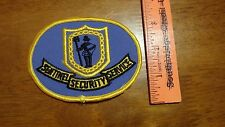 SENTINEL SECURITY SERVICE QUEENS NYC   SALESMAN COPY OBSOLETE PATCH BX 12 #18