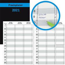 Praxisplaner 2021 A4 15min Takt Terminplaner Terminbuch mit Datum Kalender Timer