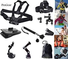ProGear Ultimate Accessory Mount Bundle for GoPro HERO 1/2/3/3+/4 Session Camera