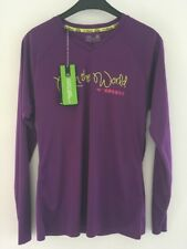T-shirt Femme Sport MIZUNO Drylite Run LS Tee Couleur violet Taille L