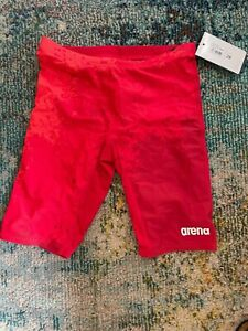 Arena boys jammer. Spraypaint style. Size 28. NWT