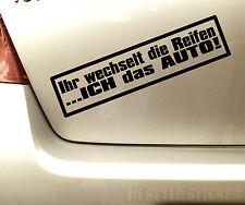 Reifenwechsel Aufkleber Winter Sticker Auto Winter ihr wechselt die reifen 108r
