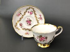 vintage ROYAL CHELSEA, bone china cup & saucer #4379.A England 1951-1961