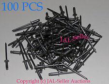 """100pcs 1/8""""  Aluminum Dome Style Pop Rivets Grip Range: .188-.250  ITEM#JAL43"""