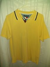 Vintage Tommy Hilfiger Polo Size L Yellow