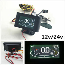 Digital Display Car Oil Pressure Gauge Monitor Voltage Gauge+Oil Pressure sensor