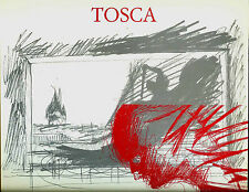 TOSCA di Giacomo Puccini al Teatro dell'Opera di Roma 1990-91. Saggi e immagini