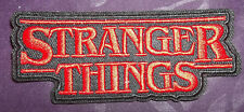 STRANGER THINGS PATCH EMBROIDERED NETFLIX SEW/ IRON ON ELEVEN EGGOS DEMOGORGON