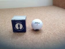 L'Open Royal Liverpool 2014 Titleist Golf Ball in Scatola NUOVO