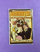 Ghosts #1 (1971):  Nick Cardy Cover Art!  1st Issue! FN+ (6.5)!