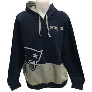 NFL Men's New England Patriots Hoody 2X Sweatshirt Hoodie Big Logo 2XL