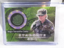 Stargate SG1 Costume Card Amanda Tapping C17 Samantha Carter