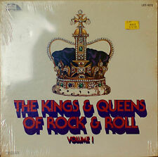THE KINGS & QUEENS OF ROCK & ROLL Volume I-SEALED1981LP SHIRELLES/BILL HALEY ETC