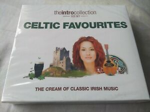 Celtic Favourites The Intro Collection *NEW* 3xCD Classic Irish Music 55 Tracks