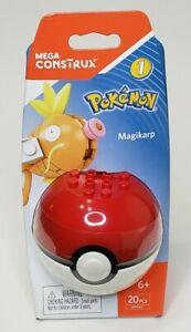 Mega Construx Pokemon #1 Magikarp 20 Pcs Figure Builder Pokeball 6+ DYF07 New