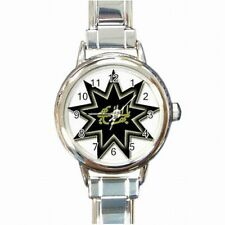 Bahai Faith 9 Point Star Nine Pointed Star Religion Womens Bracelet Watch