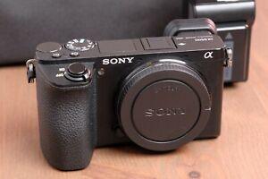 Sony Alpha a6500 24.2MP Digital Camera - Black (Body Only) with Bag